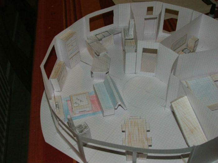 Maison Ronde En Bois Amazing Maison Bois Par Domespace With Maison Ronde En Bois Perfect  # Maison Ronde En Bois
