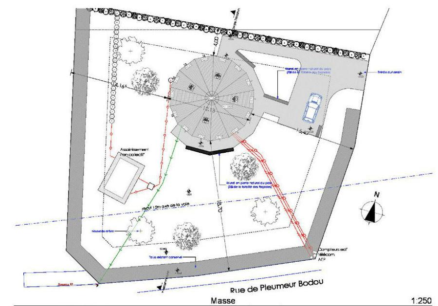 Plans Int Rieurs Ext Rieurs Ti Logell Maison Ronde